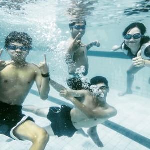 Foto underwater rame-rame paka DiCAPac Waterproof Case