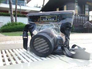 DiCAPac Waterproof Case untuk DSLR